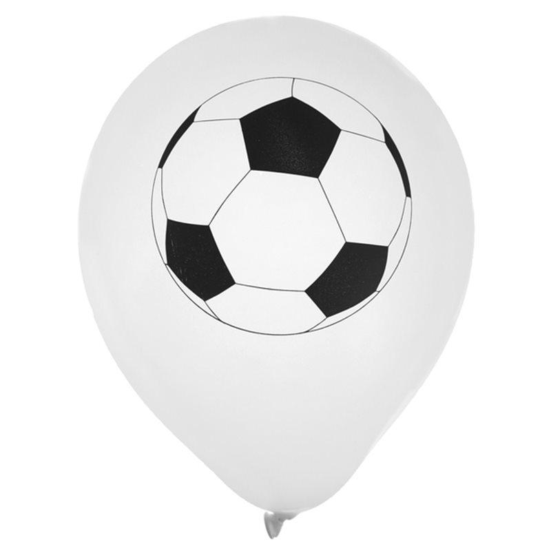 Ballon de Baudruche Foot x 8
