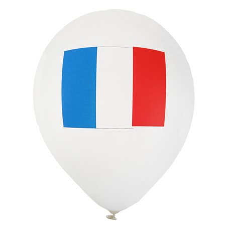Ballon de Baudruche France x 8