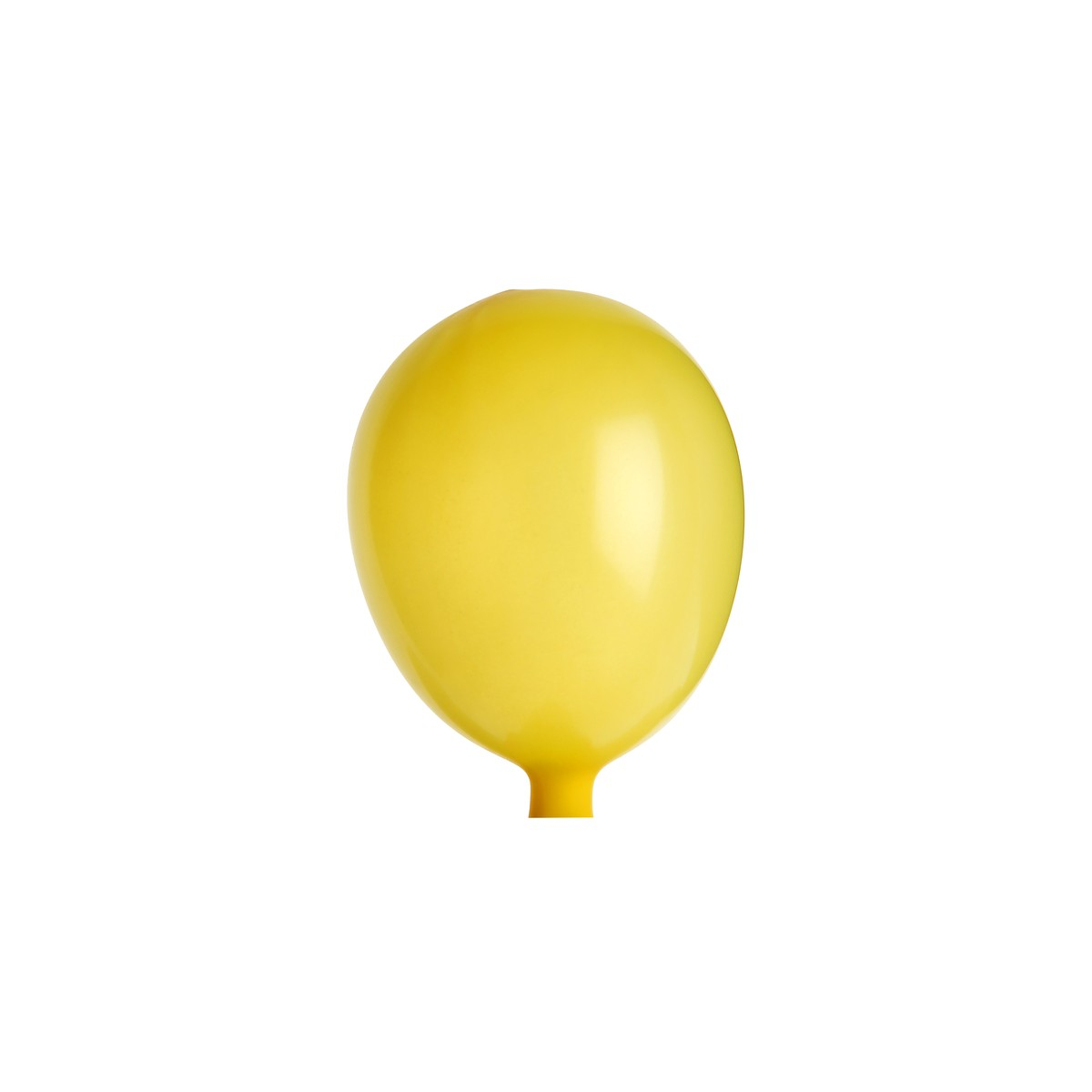 Mini Ballon de Baudruche Jaune x 25