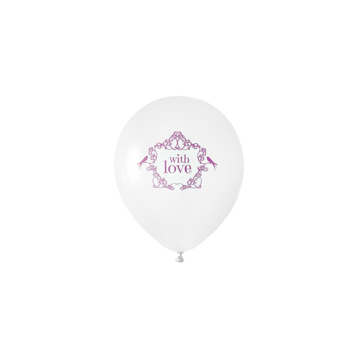 Ballon de Baudruche Vintage Rose x 8