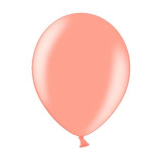 10x Ballon de baudruche Rose Gold