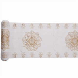 Chemin de Table oriental or 5m x 28cm