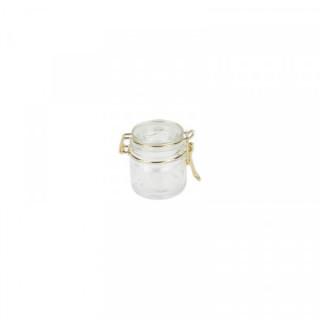 Pot en verre Hermétique Or x1