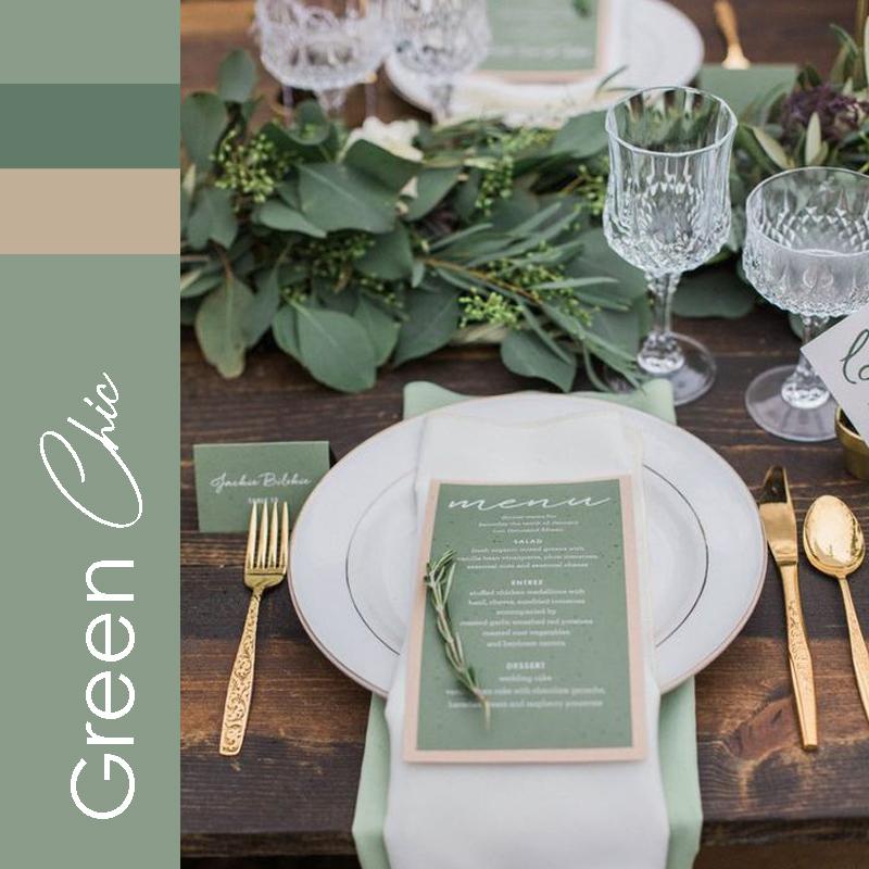 tendance 2021 mariage GreenChic